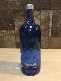 1 Litre Absolut Original Vodka(New)