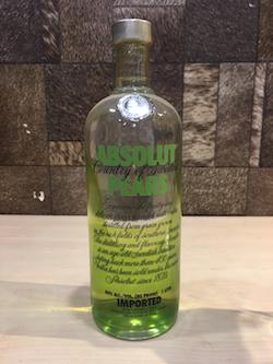 1 Litre Absolut Pear,  Absolut Vodka