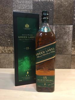 1 Litre Johnnie Walker Green Label Blended Malt Whisky