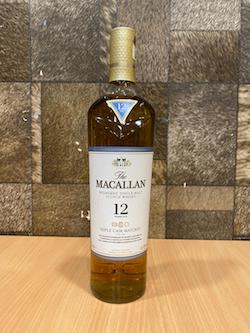 700ml Macallan 12yrs Triple Cask Whisky W/O Box/Macallan 12 Years Old Triple Cask Whisky Singapore