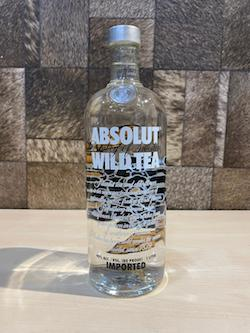 1 Litre Absolut Wild Tea Vodka/Absolut Vodka Singapore