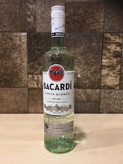 700ml Bacardi Superior Rum, Acl: 40%/Bacardi Superior Singapore