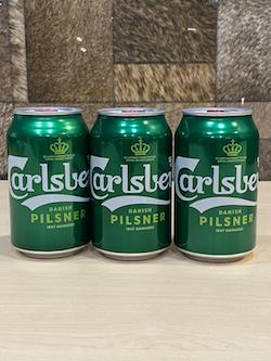 (3cans) 323ml Carlsberg Can Beer/Carlsberg Beer Singapore