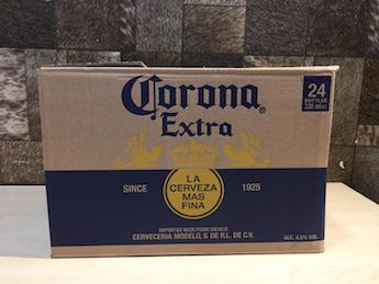 24 Bottles Corona Extra Bottle Beer, 330ml, Pint Size, Acl: 5%