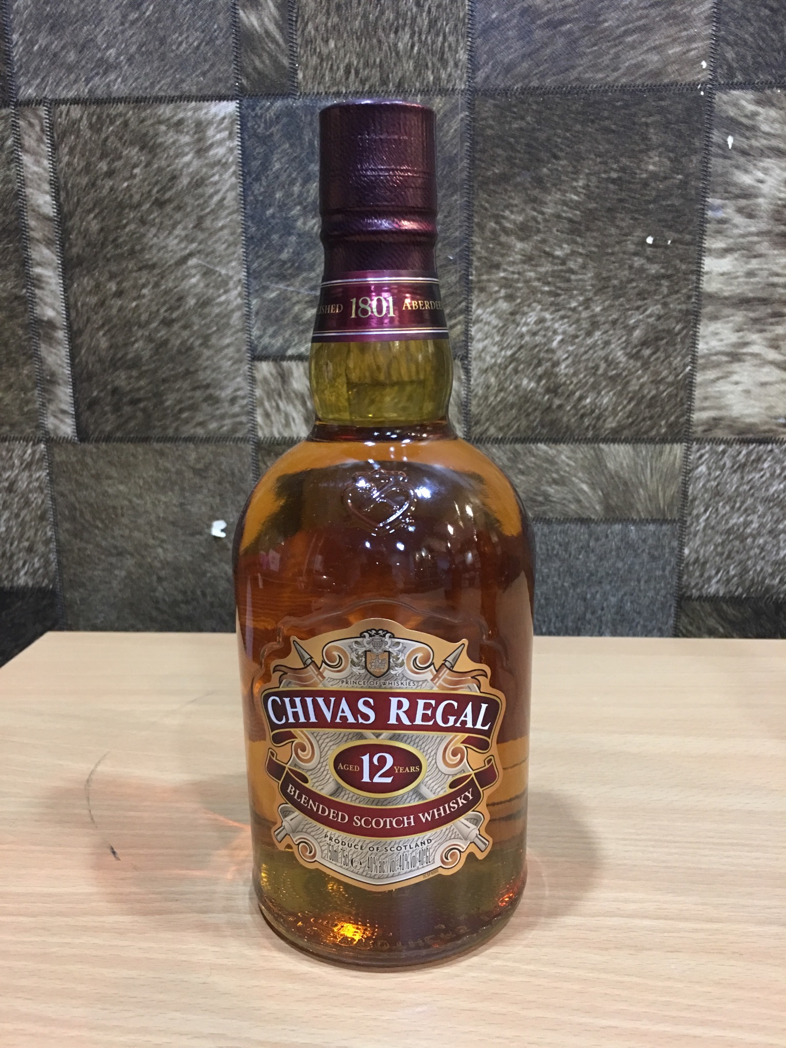 Chivas Regal 12yrs OLD Whisky(PI), 75cl, Acl: 40%