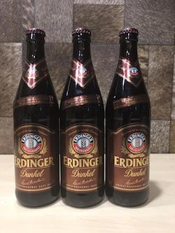 3pcs Erdinger Beer, 500ml, Dark Beer, Quartz Size, Acl: 5%