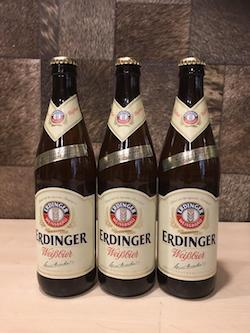 3pcs Erdinger White Beer, 500ml, Quartz Size, Acl: 5%