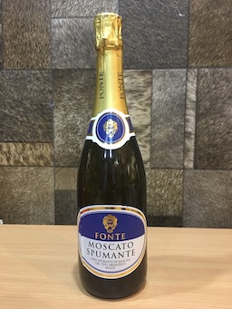 Fonte Spumante Moscato, 75cl, Acl: 12.5%