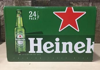 330ml x 24 bottles Heineken Pint Beer, Acl: 5%