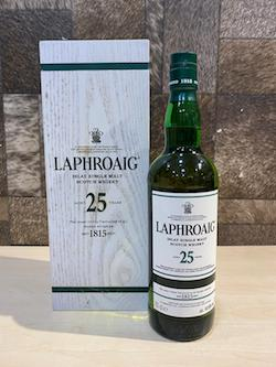 700ml Laphroaig 25yrs Whisky