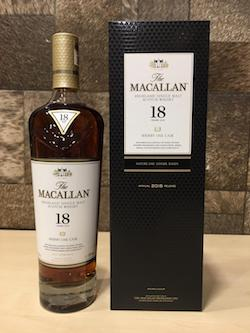 2018 Macallan 18yrs Sherry Oak Cask Whisky 700ml