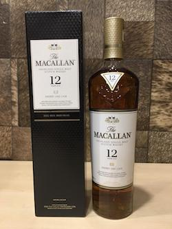 700ml Macallan 12yrs Sherry Oak Cask Whisky W/Box