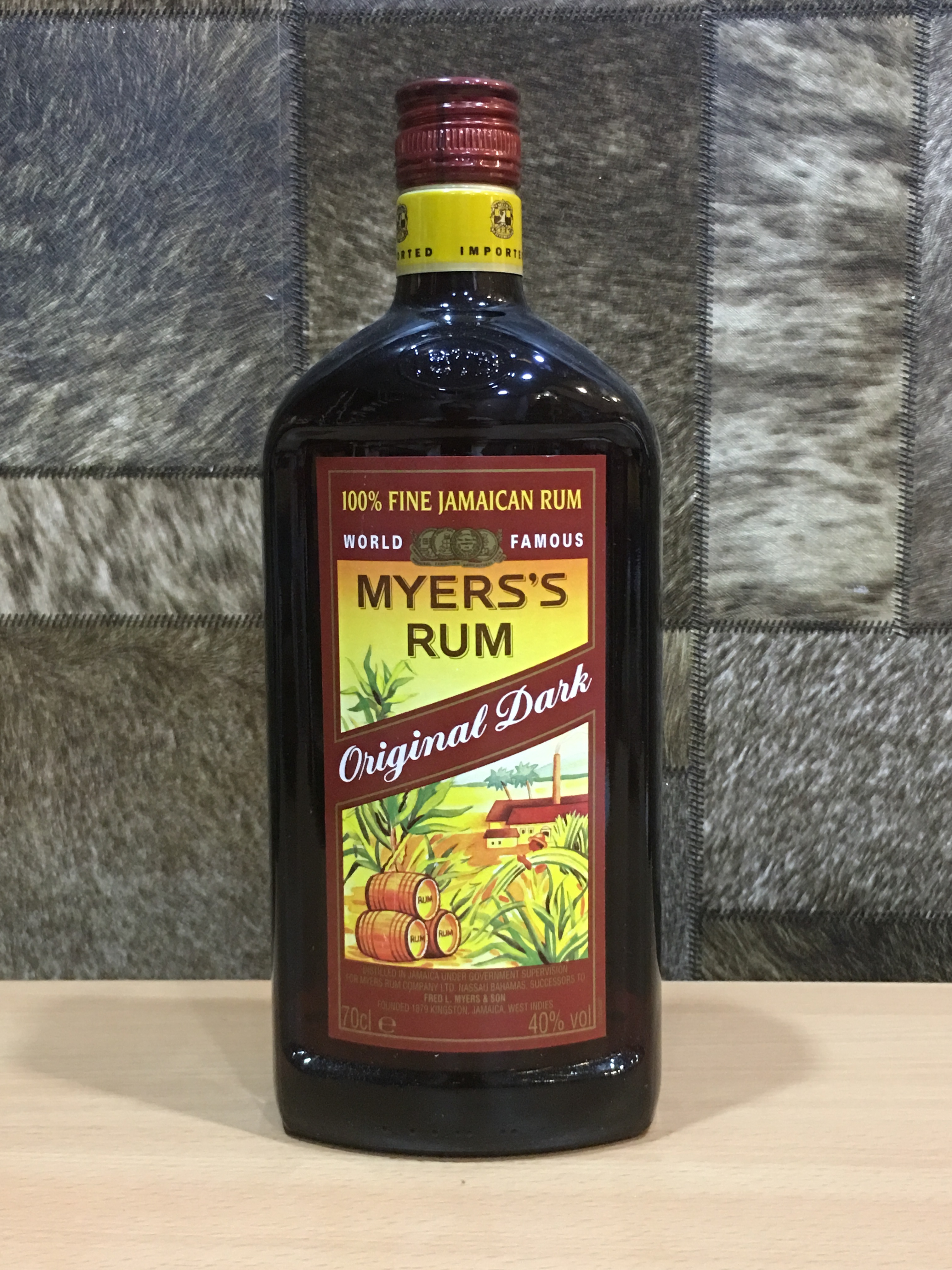 Myers's Dark Rum, 70cl, Acl: 40%
