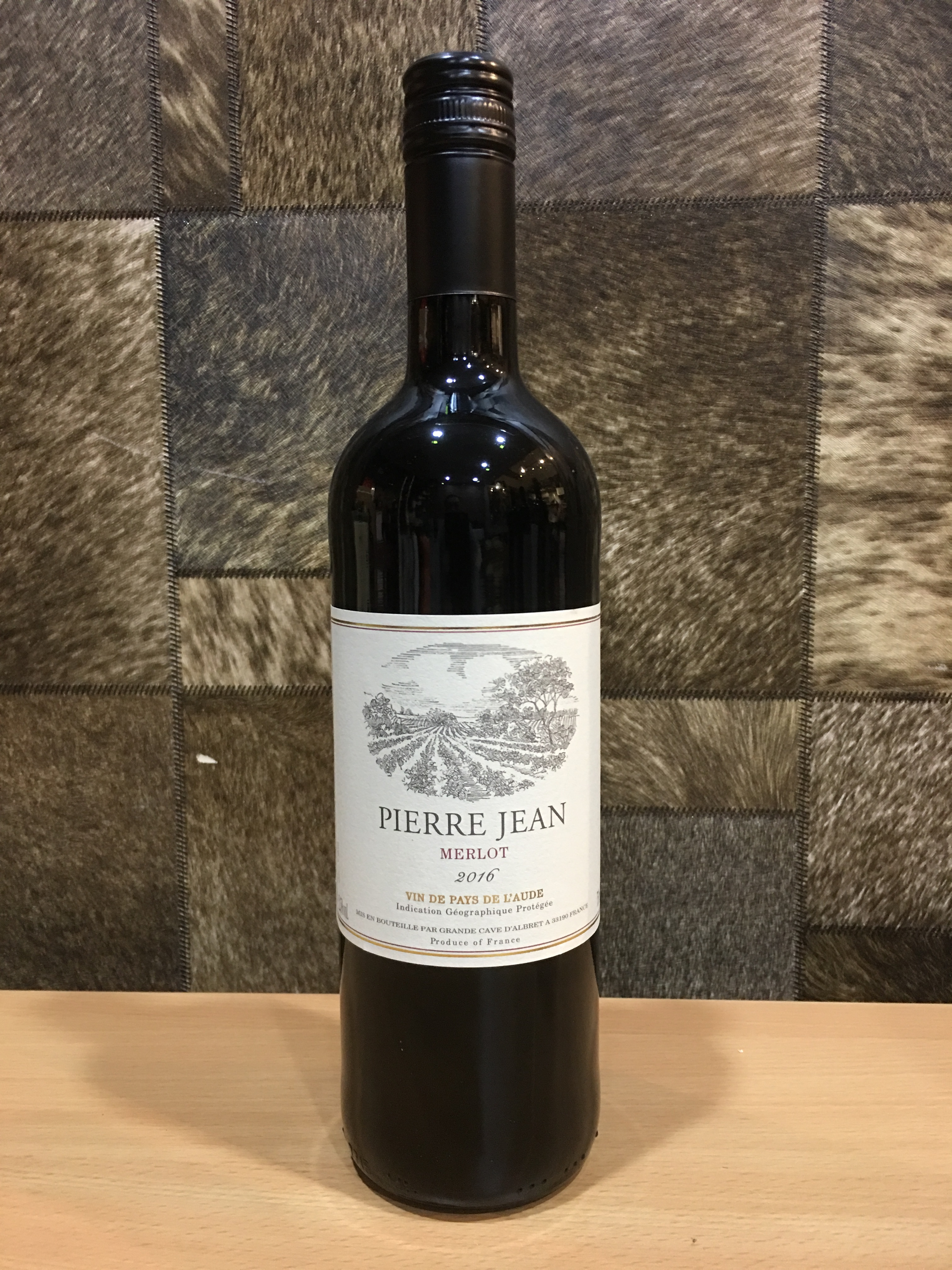 750ml Pierre Jean Merlot Wine 2018/Pierre Jean Wine Singapore