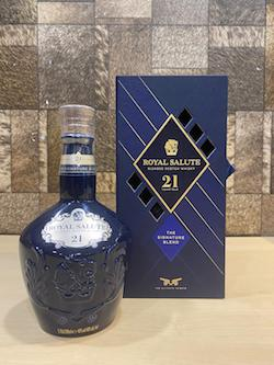 700ml OLD Chivas Regal 21yrs Blended Scotch Whisky, Royal Salute 21yrs Whisky