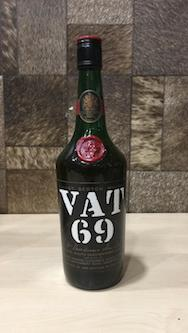 700ml Vintage Vat 69 Whisky