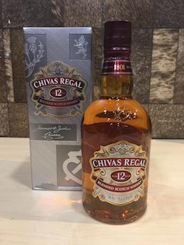 750ml Chivas Regal 12yrs Blended Whisky