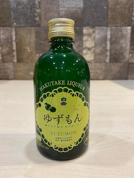 300ml Hakutake Yuzumon Liqueur/Japanese Yuzu Singapore