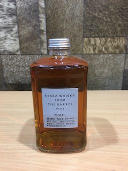 delete 2pcs Nikka from the Barrel  (500ml, Acl: 43%)
